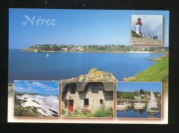Névez (29) : Port-Manec'h Et L'embouchure De L'Aven, Phare, Côte Rocheuse, Chaumières, Etc... - Névez