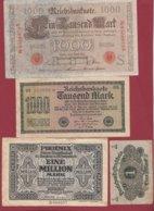 Allemagne 14 Billets Dans L 'état Lot N °1 - Germania
