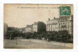 Cpa - SAINT ETIENNE Cours Victor Hugo Vue Générale - Saint Etienne