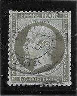 France N°19 - 1 Centime Olive - B - 1862 Napoleon III