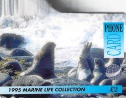 PHONE CARD MARINE LIFE  -  Prépaid - Carte Prépayée  - - Frankrijk