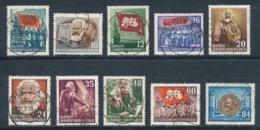 DDR 344/53 Gestempelt - [6] República Democrática