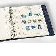 LIGHTHOUSE EXCELLENT DE Ringbinder, Blue - Stockbooks