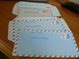 TIMBRE FRANCE/LOT DE 4 AEROGRAMME NEUF - Marcophilie (Lettres)
