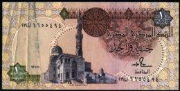 Egypte 1988 1 Livre 1 Pound  Signature Salal Hamad    XF  See Explain / Explications - Egypte