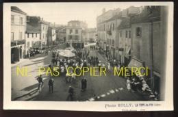 LA TOUR DU PIN (ISERE) - RALLYE CYCLISTE U.F.V. DE JUILLET 1936 - PHOTO ROLLY - Luoghi
