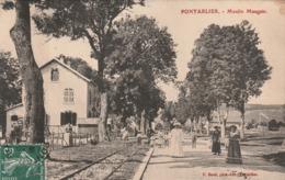 25 / Pontarlier  - Moulin Maugin - Trés Beau Plan Carte écrite - Pontarlier