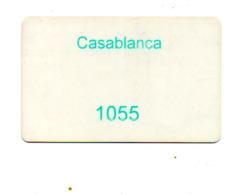 Turks E Caicos KEY CASINO  CASABLANCA - Casino Cards