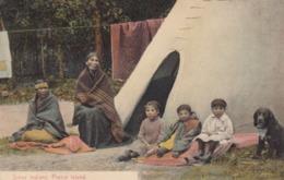 Sioux Indians , Prairie Island , Minnesota , 1909 - Indiens De L'Amerique Du Nord