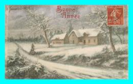 A787 / 141  Bonne Année Paysage Hivernale - New Year