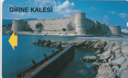 Northern Cyprus - Girne Kalesi (Kyrenia Castle) - Télécartes