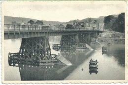 280. Hastière - Pont Provisoire Sur La Meuse - Hastiere