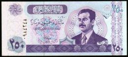 Irak 2002 250 Dinars  Sadam Hussein UNC  Neuf  New - Irak
