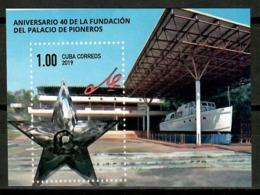 Cuba 2019 / Che Guevara 40 Years Pioneers Palace Ship MNH Barco 40 Años Palacio Pioneros / Cu14837  C4-7 - Persönlichkeiten