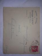 Rare Enveloppe De GEORGES CERF . Marchand Chevaux Bestiaux à COMMERCY .Meuse .55 - Reclame