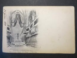 Félix Faure - CPA - Précurseur - Funérailles Du Président - Décoration De L'Eglise Notre Dame - 1899 - B.E - - Historical Famous People