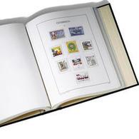 KABE Bolt Binder DELTA A, Incl. Slipcase, Blue - Stockbooks