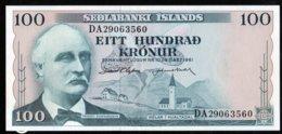 Islande 1961 100 Kronur   UNC    See Explain - Iceland