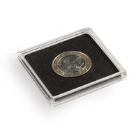 Square Coin Capsules QUADRUM, Inner Diameter 25 Mm - Supplies And Equipment
