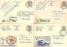 12 Publibels Voir N° Dans La Description VOIR SCANS (Lot 603) - Enteros Postales