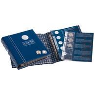 VISTA Coin Album For German 10-Euro Commemorative Coins, Vol. 1, Incl.slipcase Blue - Supplies And Equipment