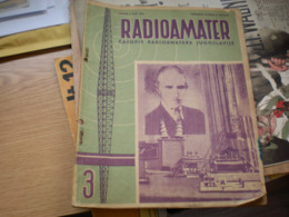 Nikola Tesla Radioamater Casopis Jugoslavije  Nikola Tesla Kao Osnivac Radioelektricne Tehnike - Boeken, Tijdschriften, Stripverhalen