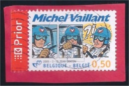 Postzegel België 2005: Michel Vaillant (afgestempeld - Oblitéré) - Belgium