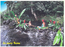 Polynésie Française-  Baignade à La Source VAIMA (Mataiea) Tahiti (Teva Sylvain  Tahiti 971)@ *PRIX  FIXE - Polynésie Française