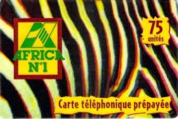 Carte Prépayée - AFRICA CALL  -  Prépaid  - - Frankrijk