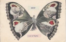 Heyst - à Vol De Papillon - 1908 - Phototypie Marco Marcovici, Brussel - Heist