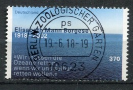 "Germany 2018 Michel Nr..3375""100.Geburtstag Von Elisabeth Mann Borgese "" 1 Wert Used - Used Stamps"