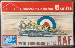Telefonkarte Gibraltar - Royal Air Force - 308A - Gibraltar