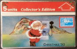 Telefonkarte Gibraltar - Weihnachten - 310L - Gibraltar