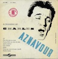 """Charles Aznavour Vinyle 16 Tours 17 Cm """"çà"""" - Spezialformate"""