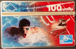 Telefonkarte Gibraltar - Sport - 505L - Gibraltar