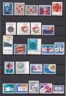 Jugoslawien - Zwangszuschlagsmarken - 1964/76 - Sammlung - Postfrisch - Dienstpost