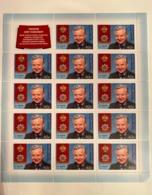 Russia 2019 Sheet Oleg Tabakov Art Film Star Actor Cinema Famous People Medal Award Celebrity Stamps MNH - Cinema