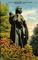 North Dakota Bismarck Statue Of Sacajawea On Capitol Grounds - Bismark