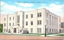 North Dakota Mandan World War Memorial Building - Mandan