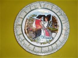 Assiette Décorative Ballon D'alsace - Borden