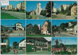 Oberglatt ZH - Multiview Stempel: SBB Glattbrugg - ZH Zurich