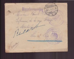 Allemagne Enveloppe Du 28 Avril 1915 De Wetzlar Pour Montrichard Tampon Militaire - Germany