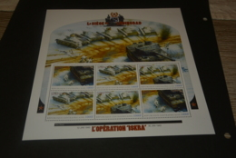 GR602- Personalised Bloc  MNH - Central Africa   - L'Operation Iskra - Non-normalised Shipment - WO2