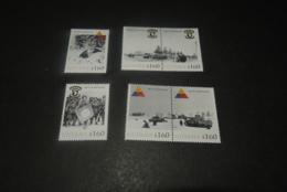 K23624 -Personalised Set MNh Guyana   - 2010 - Battle Of The Bulge 65 Years - WW2