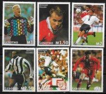 LESOTHO    N° 1228/33  * * ( Cote 11e)   Cup 1998  Football Soccer Fussball - Coupe Du Monde