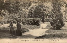 COULONGES SUR L'AUTIZE LE JARDIN PUBLIC - Coulonges-sur-l'Autize