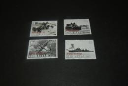 K23682 - Set  MNH   Gibraltar - 2004 -  D-Day Landing - General Dwight Eisenhower - WO2