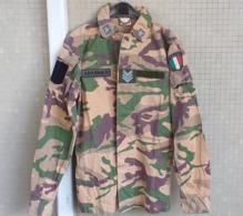 Giacca Pantaloni Mimetica Desert Brigadiere Dei Carabinieri Tg. 48 Del 2003 - Divise