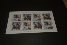 M7279- Personalised Bloc  MNH Dominca 2010 - WW II Bataille Des Ardennes - WO2