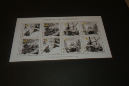 M7280- Personalised Bloc  MNH Dominca 2010 - WW II Bataille Des Ardennes - WO2